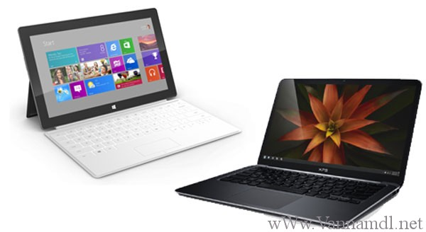 Phân biệt windows 8 pro và windows RT