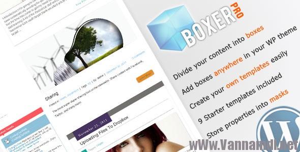 boxer pro premium plugin
