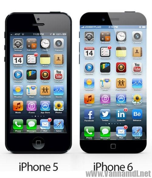 so sanh iphone 6 va iphone 5